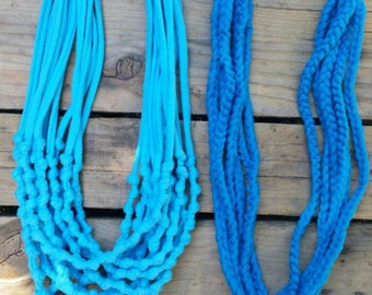 necklaces, trapillo, accessories, handmade, crafts