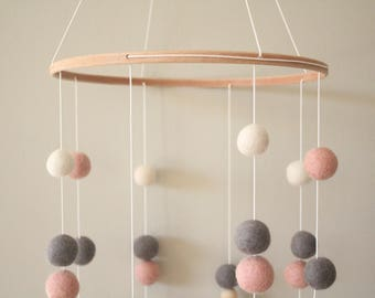 Fairy Floss & Candy Pink Nursery Mobile