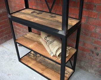 Steel shelving | Bookcase