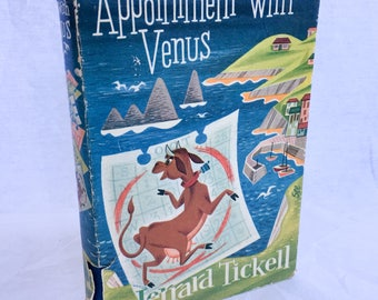 1953 Edition of Appointment with Venus by Jerrard Tickell War Novel Peace
