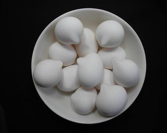 Beautiful Photograph Bowl of Manipulated Eggs