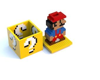 super mario lego instructions