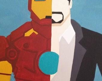 Iron Man Painting