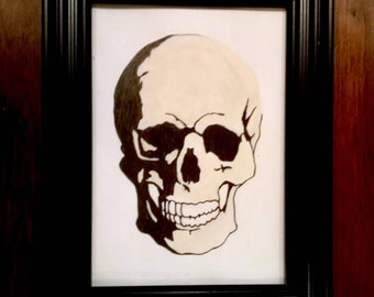 Original skull artwork