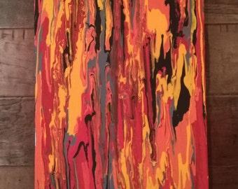 Original 12x24 Gravity Painting
