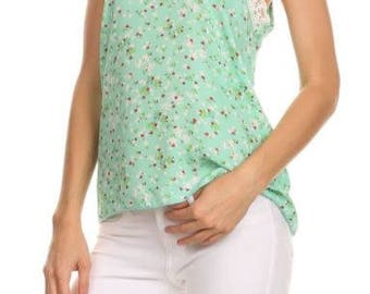 Mint Relaxed Fit Tank
