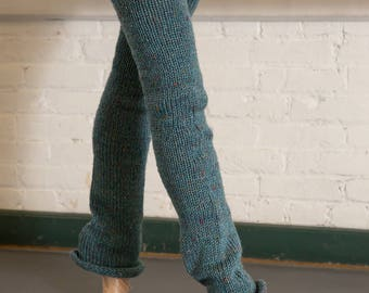 "WearWellCo ""Batterie Blue"" Long Legwarmers"