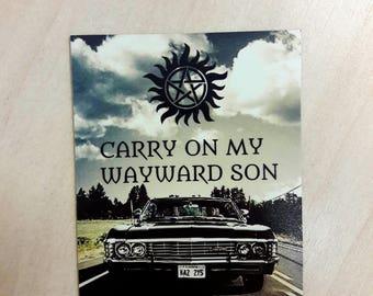 Supernatural magnet / The road so far magnet
