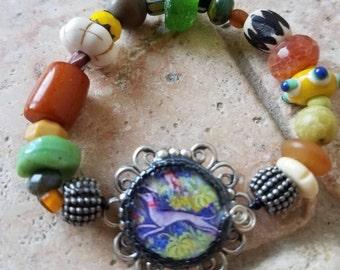 Leap for Joy Sighthound bracelet