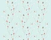 Winterberries + Chickadees Wrapping Paper
