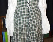 Cotton Irish / Wench / Pirate dress