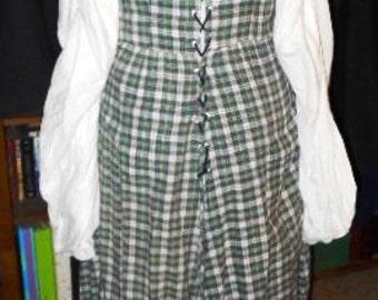 Cotton Irish / Wench / Pirate dress