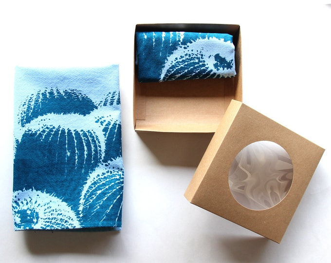 Blue Barrel Cactus Cloth Napkin Set