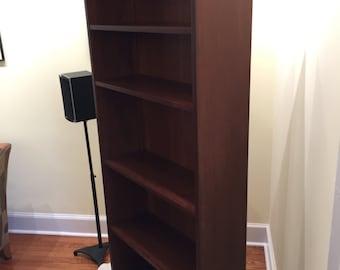Custom Cherry Bookshelf