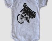Darth Vader is Riding It - Baby Onesie Bodysuit ( Star Wars baby boy or girl onesie )