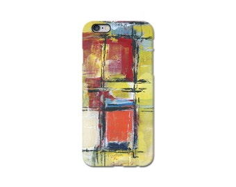 Yellow Abstract iPhone 7 Case, iPhone 6 Case, iPhone Cases, iPhone Plus Case, Galaxy S7 Case, Galaxy S7 Edge Case, Galaxy S6 Case