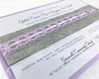 Custom Wedding Invitation Suite - ALL ORIGINAL DESIGNS - Customize Format & Design