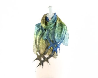 Scarves | Silk Scarf| Wool Scarf| Hand Dyed| Kate Ramsey |Accessories| leaving gift | Fashion | Style | Seide |unique | handmade