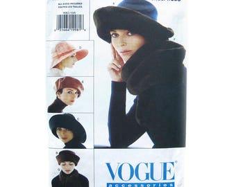 Vintage Vogue Sewing Pattern 9082 / Hat Pattern / Fur Hat Pattern / Designer Patricia Underwood