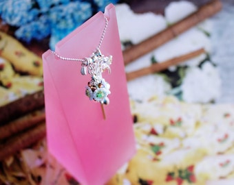 Versatility Sterling Silver Necklace / separate charms