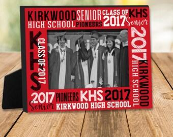 Graduation gift - personalized school class photo frame MFG-002