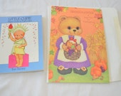 last chance Vintage Little Cupie Tom Tierney Paper Doll Book Uncut Full Color 1986 and a Freebie