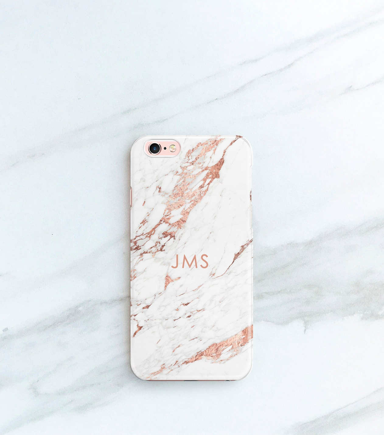 Rose Marble Phone Case Personalized Gift For Her, Sister, Mom, Iphone 7,