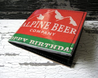 Alpine Beer Hoppy Birthday Wallet