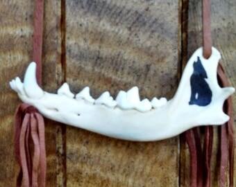 Coyote Jawbone Wall Art