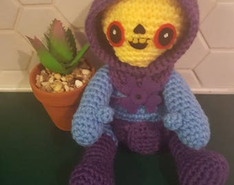 Skeletor Amigurumi - Masters of the Universe - He-Man - PDF - Instant Download