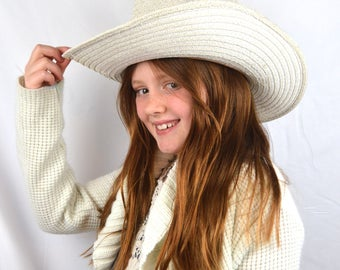 Vintage Hang Ten Western Cowboy Hat - Made in California