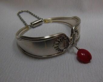 Antique Spoon Bracelet     8 inch