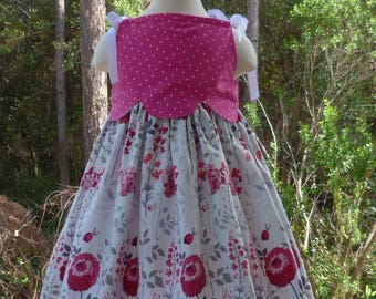 Girl's Grace Dress size 5 and 6 Ready to Ship