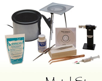 Soldering Kit with Pickle Pot