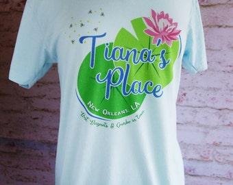 tianas place, princess tiana shirt, princess and the frog, tiana and naveen shirt, disney shirt, disney outfit, disney princess