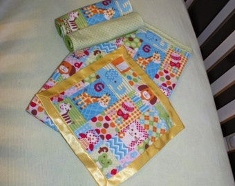 Alphabet Flannel Gift Set
