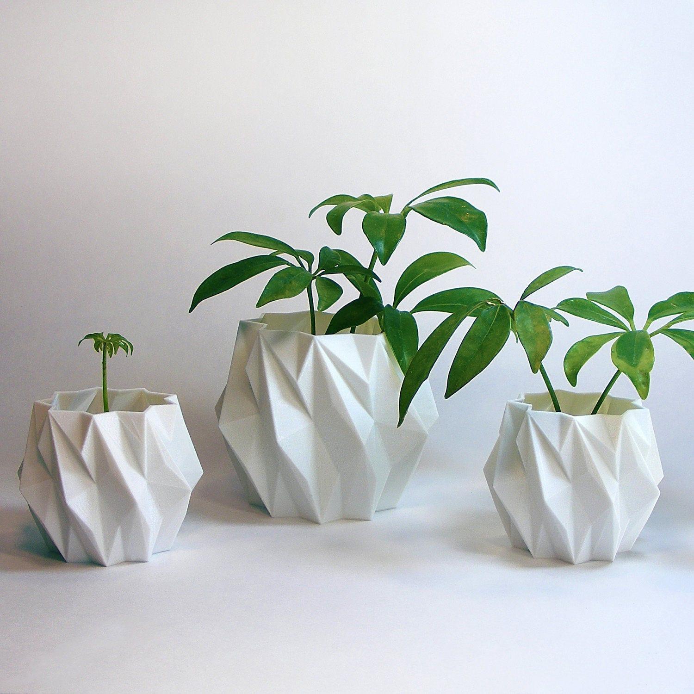 flower pot set modern accessories mini cactus planter pots - 🔎zoom