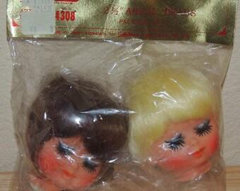 2 Angel Heads in Original Package  Lee Wards JAPAN