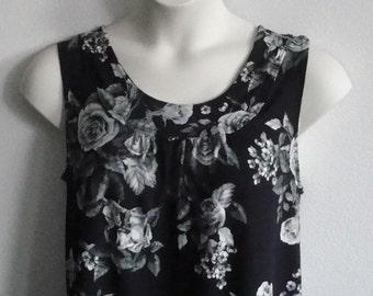 L - Post Surgery Shirt - Shoulder, Breast Cancer, Heart / Special Needs / Adaptive Clothing / Rehab / Breastfeeding  - Style Sara