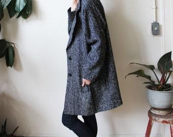 vintage silk tweed jacket