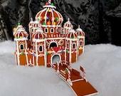 Faux Gingerbread Alladin's Arabian Knights Palace