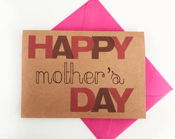Happy Mother's Day note card