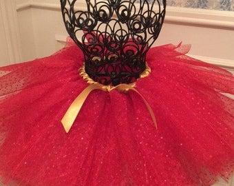 Red Glitter Tutu
