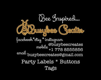 Custom Order - Special Listing - Personalize by Busybeecreates