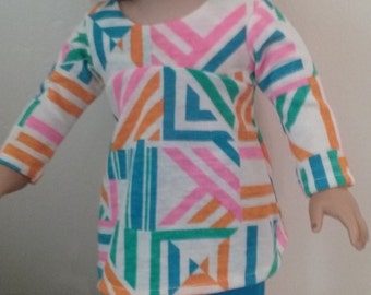 American girl 18 inch doll dress and leggings /pants
