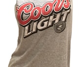 Party time COORS Light Beer Reshaped T-shirt/ Dress sz. M