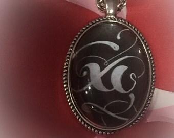 XO (Hugs & Kisses) Photo Necklace