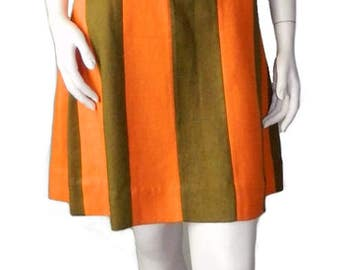 Vintage 1960s Mod Shift Dress