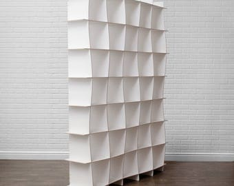 Large Modern Wooden Storage Cubes