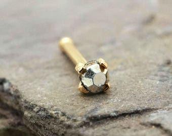 20g Metallic Bronze Gold Nose Stud Gold Nose Ring